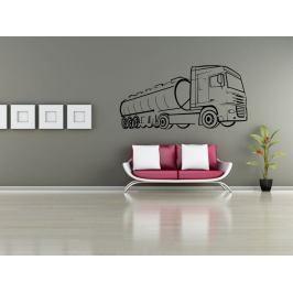 Samolepka na zeď Kamion 003