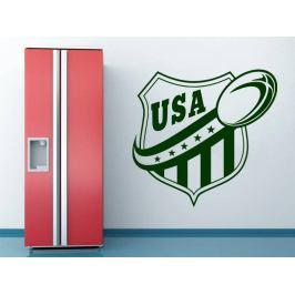 Samolepka na zeď Americký fotbal 001
