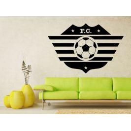 Samolepka na zeď Fotbalový míč 003