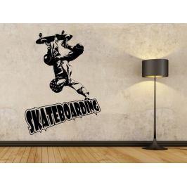 Samolepka na zeď Skateboardista 003