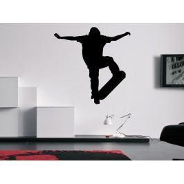 Samolepka na zeď Skateboardista 005