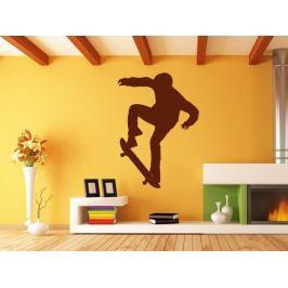 Samolepka na zeď Skateboardista 006