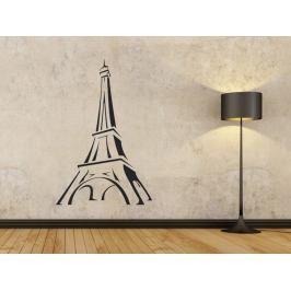 Samolepka na zeď Eifelova věž 002