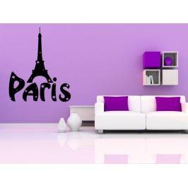 Samolepka na zeď Paříž 001