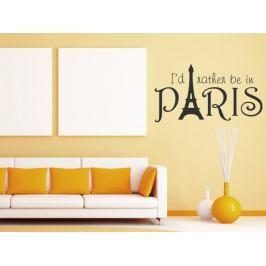 Samolepka na zeď Paříž 004