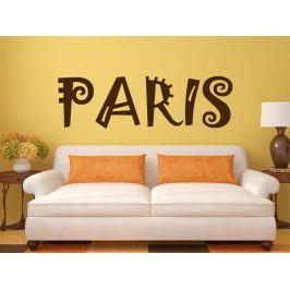 Samolepka na zeď Paříž 010