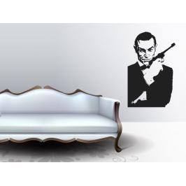 Samolepka na zeď James Bond 001