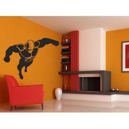 Samolepka na zeď Superhrdina 001
