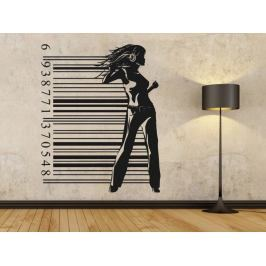 Samolepka na zeď Žena 021
