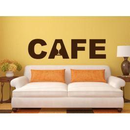 Samolepka na zeď Nápis Cafe 0001
