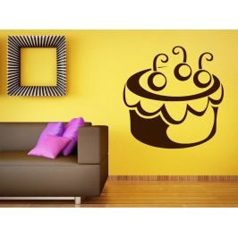 Samolepka na zeď Cupcake 0009