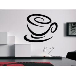 Samolepka na zeď Hrnek kávy 0052