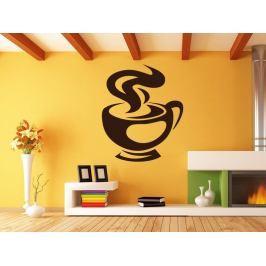 Samolepka na zeď Hrnek kávy 0053
