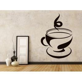 Samolepka na zeď Hrnek kávy 0056