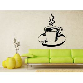 Samolepka na zeď Hrnek kávy 0057