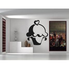 Samolepka na zeď Cupcake 0071