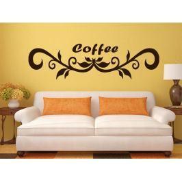 Samolepka na zeď Nápis Coffee 0106