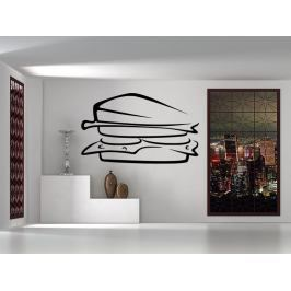 Samolepka na zeď Sandwich 0119