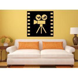Samolepka na zeď Filmová kamera 0206