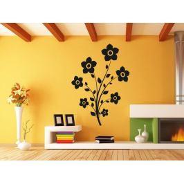 Samolepka na zeď Květina 0212