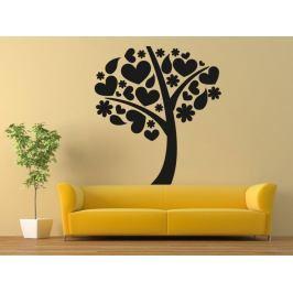 Samolepka na zeď Strom zamilovaných 0219