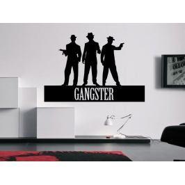 Samolepka na zeď Nápis Gangster 0237