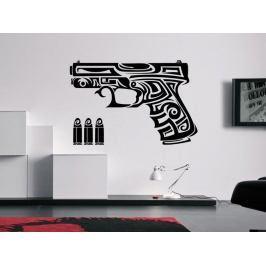Samolepka na zeď Pistole 0238