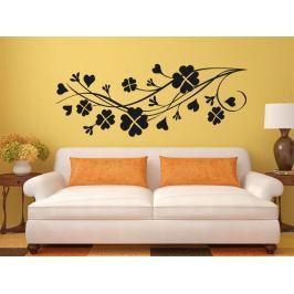Samolepka na zeď Květiny 0267