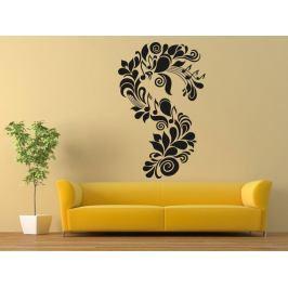Samolepka na zeď Ornament noty 0280