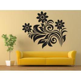 Samolepka na zeď Květiny 0300