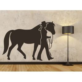 Samolepka na zeď Kůň 0355