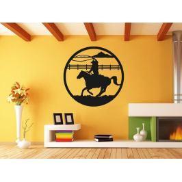 Samolepka na zeď Kůň 0400