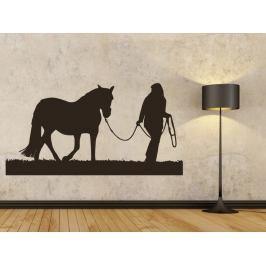 Samolepka na zeď Kůň 0403