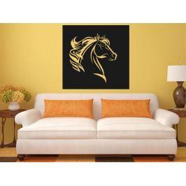 Samolepka na zeď Kůň 0404