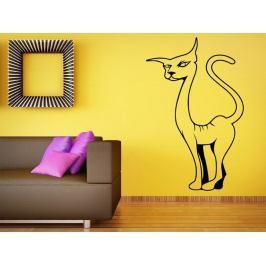 Samolepka na zeď Kočka 0429