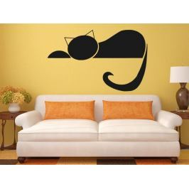 Samolepka na zeď Kočka 0456