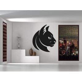 Samolepka na zeď Kočka 0468