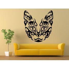 Samolepka na zeď Kočka 0488