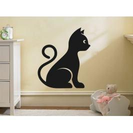 Samolepka na zeď Kočka 0491