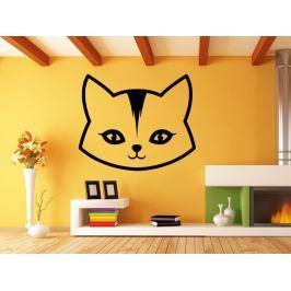 Samolepka na zeď Kočka 0504