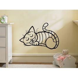 Samolepka na zeď Kočička 0516