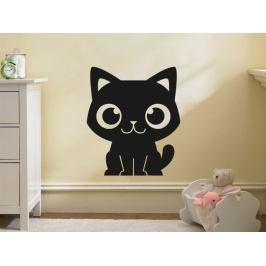 Samolepka na zeď Kočička 0528