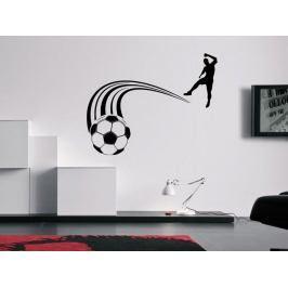 Samolepka na zeď Fotbalista 0578
