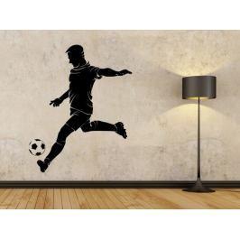 Samolepka na zeď Fotbalista 0580