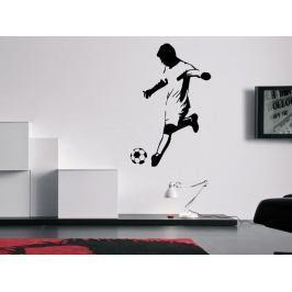Samolepka na zeď Fotbalista 0587