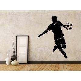 Samolepka na zeď Fotbalista 0590
