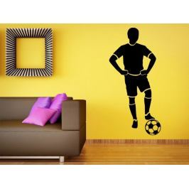 Samolepka na zeď Fotbalista 0591