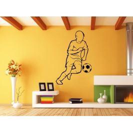 Samolepka na zeď Fotbalista 0593