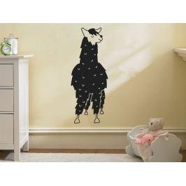 Samolepka na zeď Lama kresba 0623