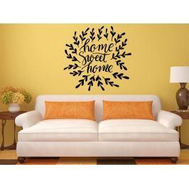 Samolepka na zeď Nápis Home Sweet Home 0627